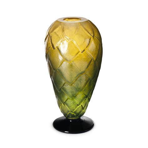 Cone Vase by M 229 Ler 229 S Into The Woods Spruce Cone Vase