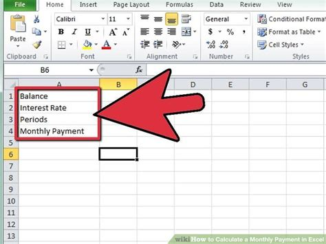 Credit Card Interest Rate Formula Excel How To Calculate A Monthly Payment In Excel 12 Steps
