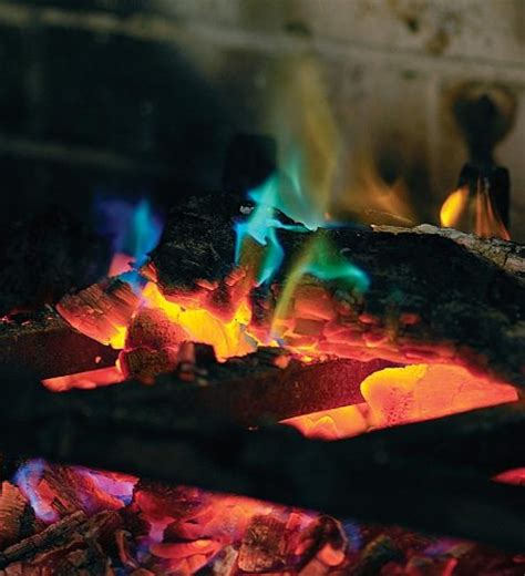 how to make colored flames how to make colored flames in a fireplace or c