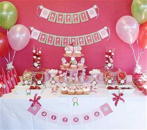 decorar cuarto de cumpleaños fresita decoraci 243 n de fiestas de cumplea 241 os infantiles