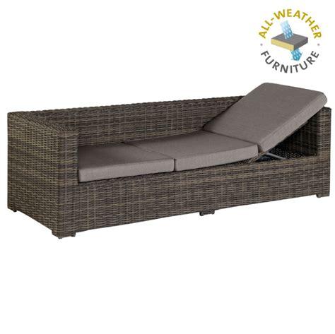 Lounge Liege Garten by Exotan 174 Rimini Lounge Sofa Bank Liege Loungeliege F 220 R Garten Terrasse Braun Ebay