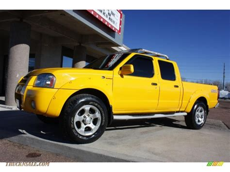 auto body repair training 2002 nissan frontier security system 2002 nissan frontier sc crew cab 4x4 in solar yellow photo 14 334096 truck n sale