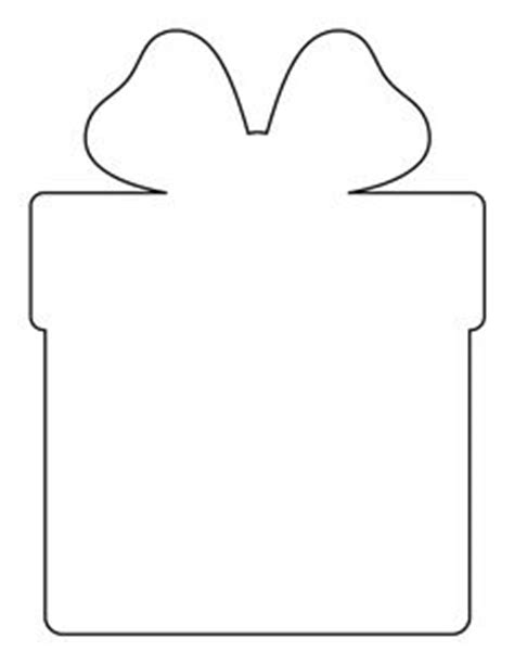 present template large gift tag pattern use the printable outline for