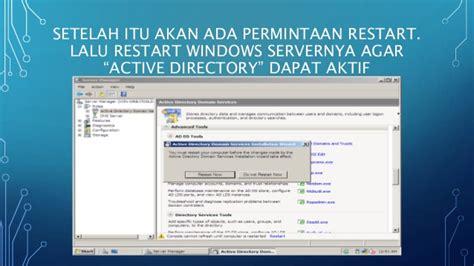 instalasi dan konfigurasi active directory di windows instalasi dan konfigurasi active directory di windows