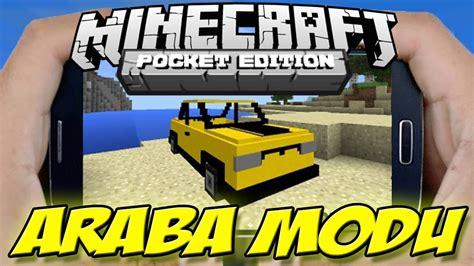minecraft car pe minecraft pe araba modu minecraft pe car mod 0 13 0