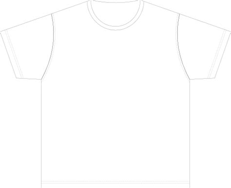 size t shirt template xl size blank t shirt template clipart i2clipart