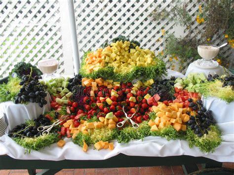 fresh fruit buffet spread stock photos image 254173