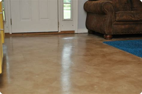 DIY Painted and Stained Concrete Floors » iSeeiDoiMake