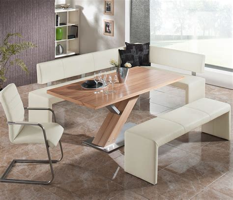 dining set bench seating twelve awesome dining tables with benches suggestions and