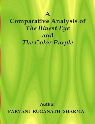 color purple book analysis a comparative analysis of the bluest eye and the color