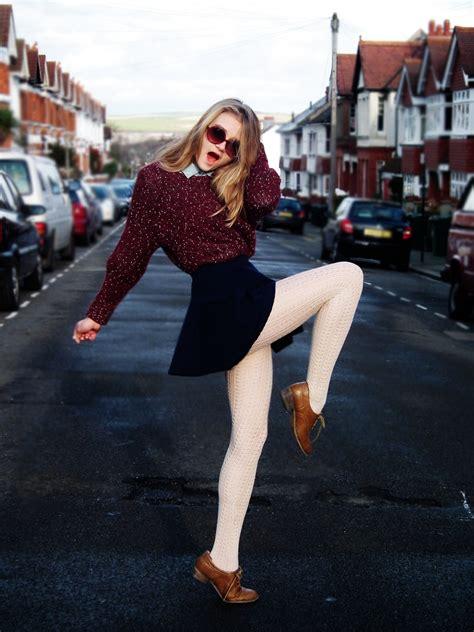 incandescent kids white tights   burgundy sweater