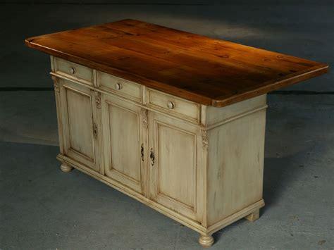 rustic kitchen island table kitchen island furniture european sideboard base in snow