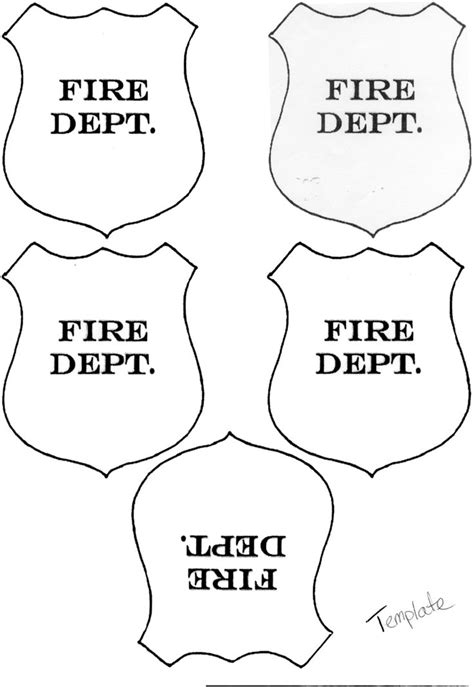 firefighter hat template preschool pin by shelby anstedt on community helpers