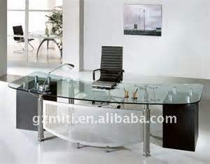 glass executive desk buy glass executive desk modern
