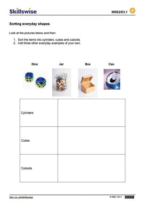 3d shape sorting worksheet 3d shapes worksheets cake ideas and designs