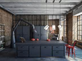 Large Kitchen Canisters industrial loft