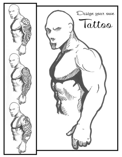 arm tattoo template danielhuscroft com