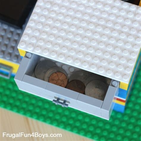 lego desk organizer build a lego desk organizer with working drawers frugal