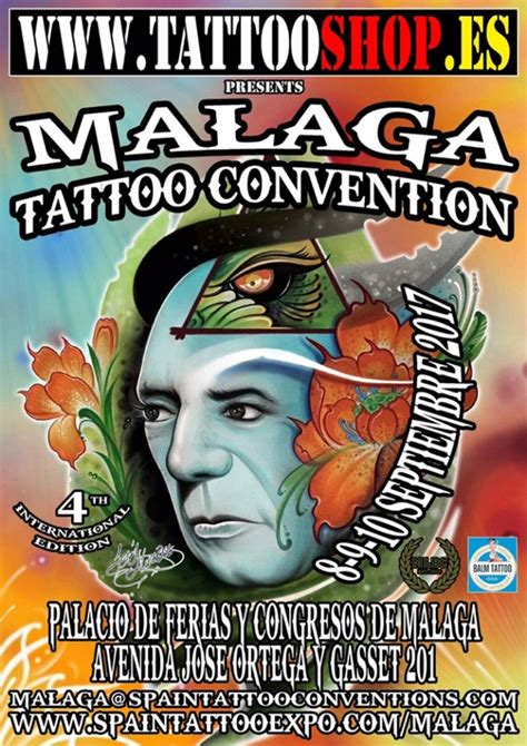 malaga tattoo convention september 2017