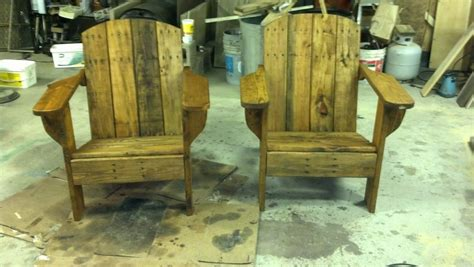 Reclaimed Wood Adirondack Chairs Reclaimed Wood Pallets Adirondack Seat And Matching