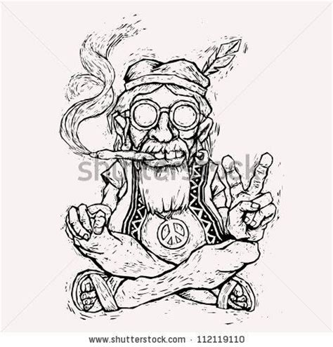 marijuana coloring hippie coloring pages pictures to pin