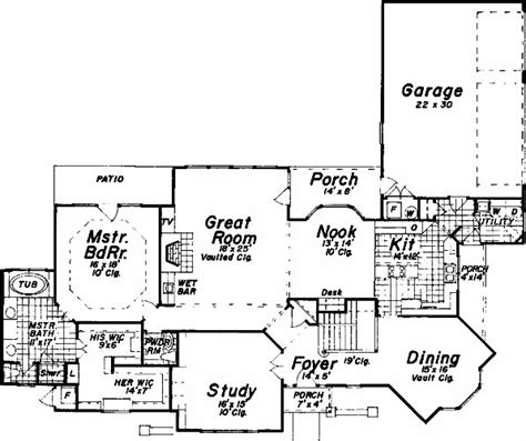 perfect for corner lot house plan alp 0681 chatham