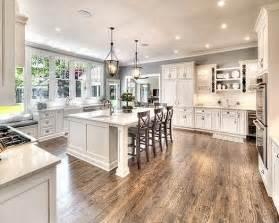 25 best ideas about white farmhouse kitchens on pinterest