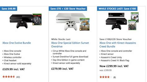 xbox one best prices xbox one vs ps4 for best price in uk product reviews net