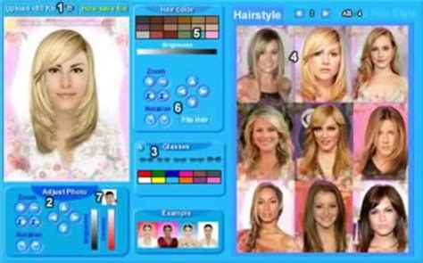 hair style program
