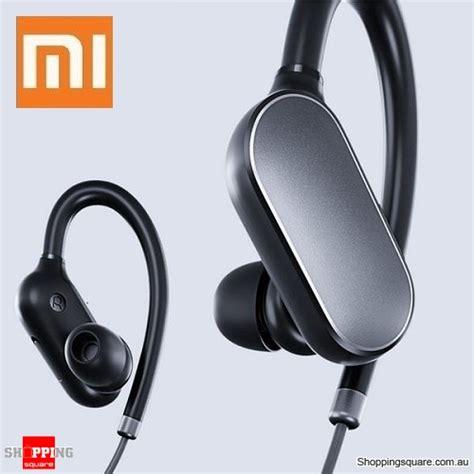 Earphone Xiaomi Mic Colour original xiaomi wireless bluetooth sport in ear earhooks headset earphone with mic black colour