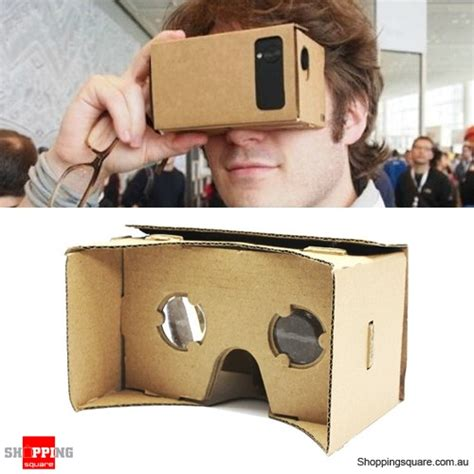 Cardboard Reality For Smartphone diy 3d reality cardboard glasses for smartphone shopping shopping