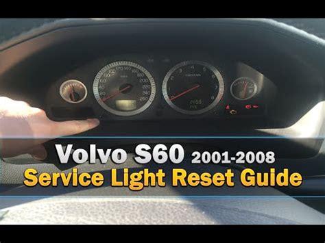 volvo  service light reset   youtube