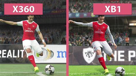 Xbox One Original Pes 2017 pes pro evolution soccer 2017 xbox one vs xbox 360 graphics comparison demo