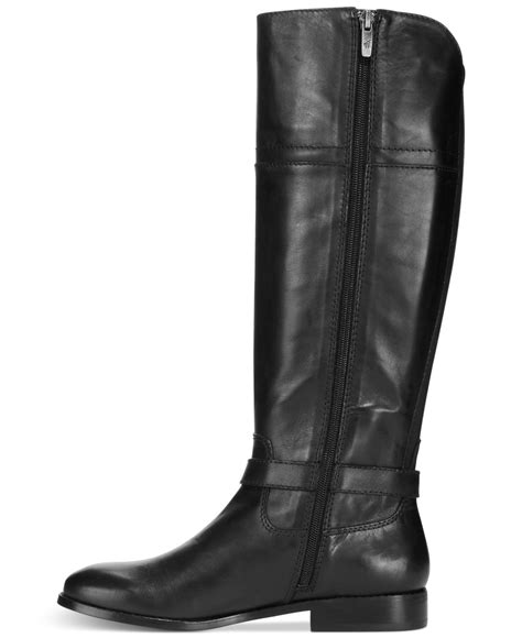 marc fisher boots marc fisher aysha boots in black lyst
