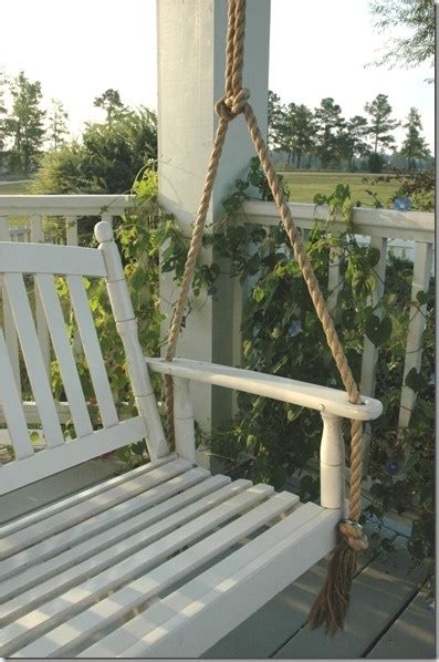 rope for porch swing pin by amber walker on front yard pinterest
