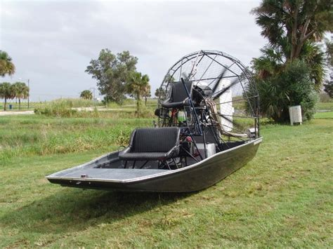 yellow airboat 15 x 8 panther airboat fbg