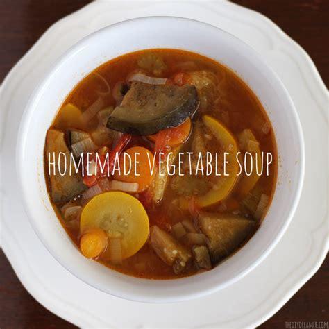 Easy Homemade Garden Vegetable Soup Recipe Garden Vegetable Soup Recipes
