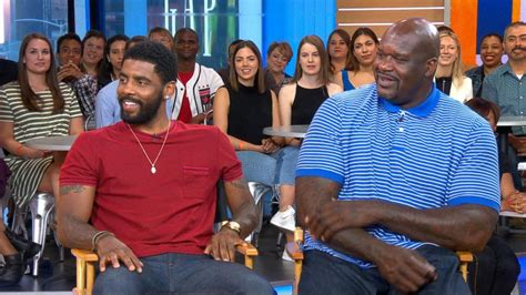 ashlee simpson good morning america shaq and kyrie irving dish on uncle drew live on gma