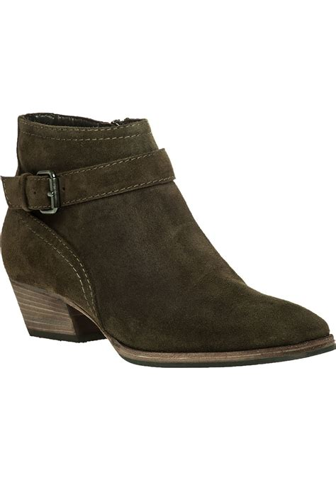 aquatalia forest suede ankle boot in lyst