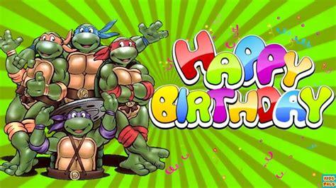 Mutant Turtles Birthday Card