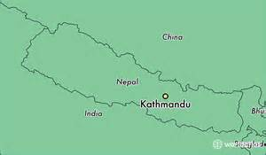 Location Of Nepal In World Map by Where Is Kathmandu Nepal Where Is Kathmandu Nepal