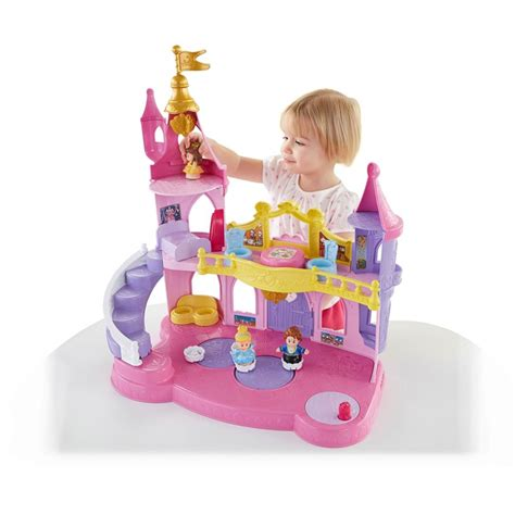 fisher price disney princess doll house fisher price disney princess musical dancing palace by little people for only 18 90