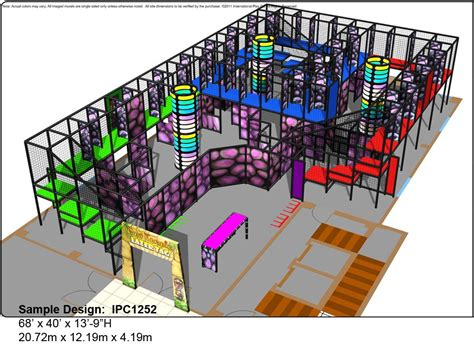laser tag floor plan international play co playground manufacturer equipment