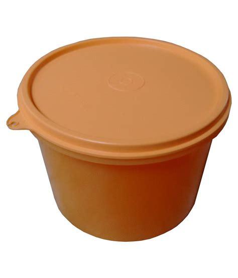 Tupperware 7 Circle Container tupperware orange plastic storage container buy
