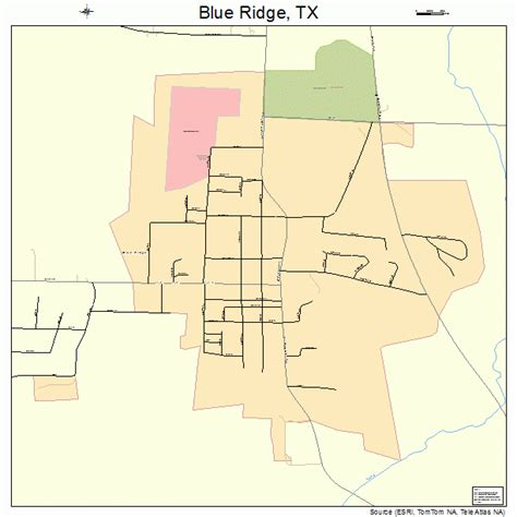 blue ridge texas map blue ridge texas map 4808872