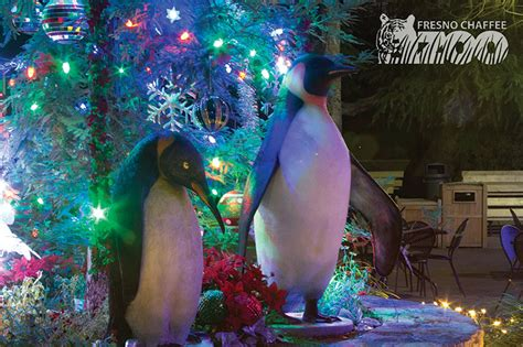 Weekend Wonders From Christmas To The Zoo The Collegian Zoo Lights Fresno Ca