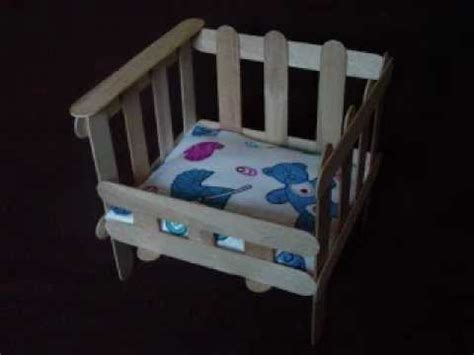 easy arts and crafts: popsicle crib youtube