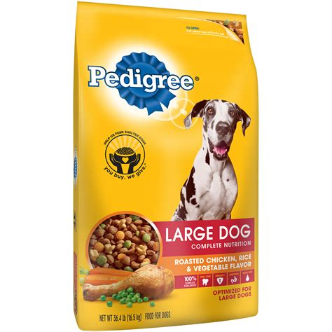 puppy food for large breeds pedigree large breed nutrition food for puppies and dogs large crunchy