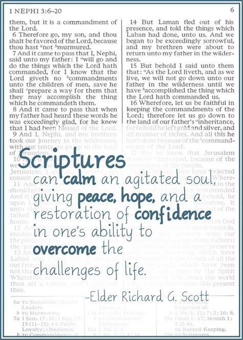 lds quotes on scripture study quotesgram