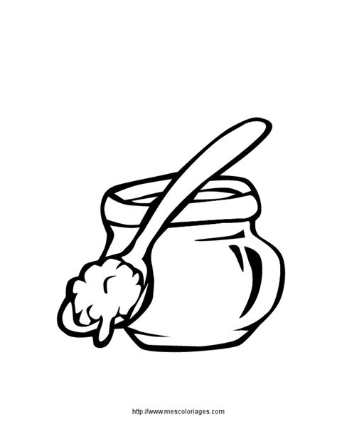 m honey pot coloring pages to print coloring pages